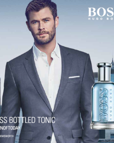 Hugo Boss Bottled Tonic.