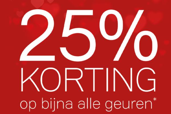 Parfumerie Winnubst Den Haag - 25% Korting op bijna alle geuren